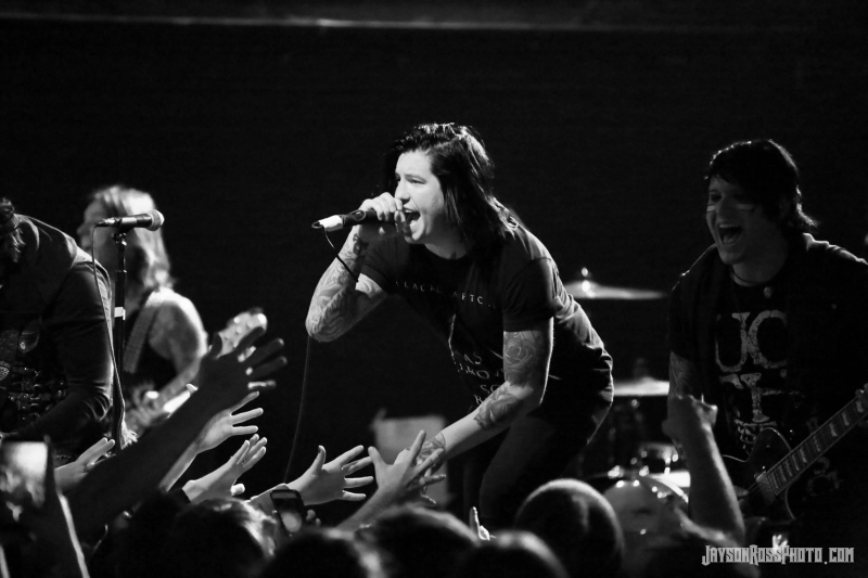 Escape the Fate live at In The Venue in Salt Lake City credit Jayson Ross